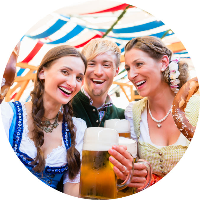 Oktoberfest events in the UK